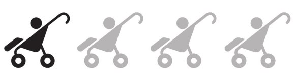 1 Stroller: This hike is tough on your glutes and your stroller. The terrain is rough, use body-carrier for sure!