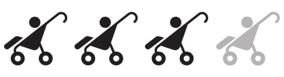 3 Strollers: some bumps but manageable